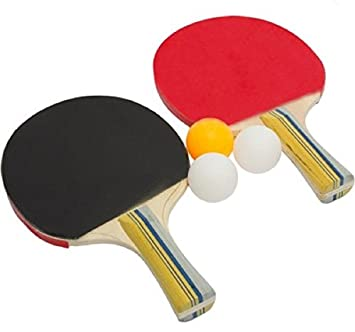 table tennis bats. blt table tennis set (2 tt bats with balls)