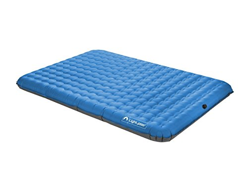 Lightspeed Outdoors 2-Person PVC-Free Air Bed with Battery Operated Pump