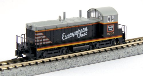 Kato USA Model Train Products EMD NW2#9205 CB and Q Everywhere West N Scale Train