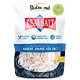 Redmond Real Sea Salt - Natural Unrefined Organic Gluten Free Coarse, 16 Ounce Pouch (1 Pack)