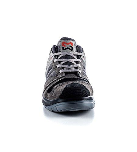 Chaussures de Sécurité S3 Stretchfit basses Würth MODYF Grises