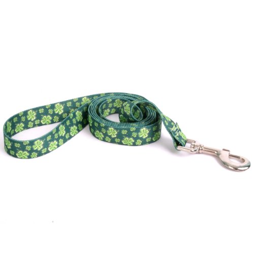 - Yellow Dog Design 4 Leaf Clovers Lead, 1-Inch by 60-Inch