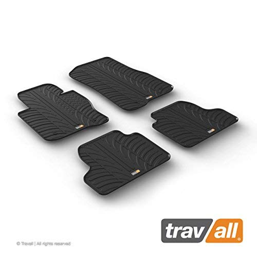 Travall Mats Compatible with BMW 4 Series Gran Coupe (2014 - Current) Also for BMW 4 Series Coupe (2013 - Current) TRM1280 - All-Weather Rubber Floor Liners