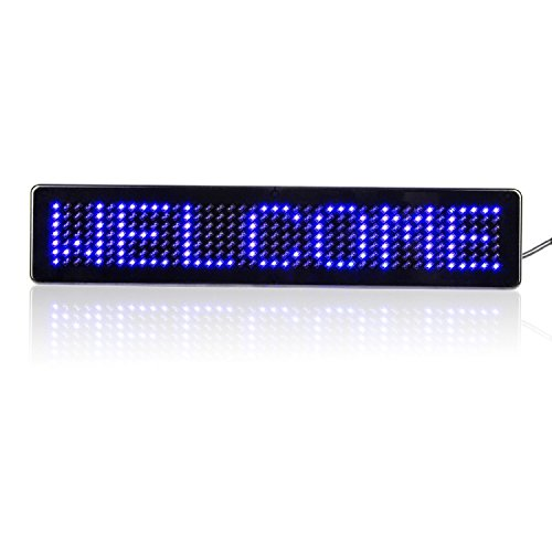 scrolling led advertising board yellow.尺寸1020cm10cm220cm