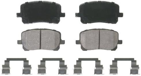 Wagner Brake ZD923 Front Ceramic Brake Pads 12 Month 12,000 Mile Warranty