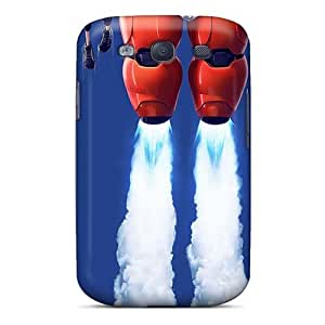 Samsung Galaxy S3 DlU6662JfSc Provide Private Custom Attractive Big Hero 6 Series Scratch Resistant Hard Phone Cover -MansourMurray