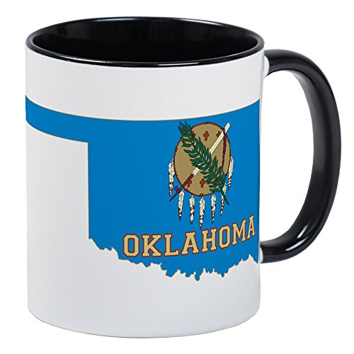 CafePress - Oklahoma Flag Mug - Unique Coffee Mug, Coffee Cup (Mug Oklahoma Coffee)