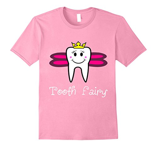 Cute Tooth Fairy Costume Ideas (Mens Tooth Fairy Cute Men Women Kids T Shirt Large Pink)