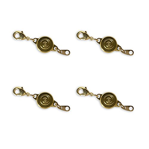 Locking Magnetic Clasps - Set of 4 GOLD By Jumbl