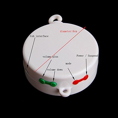 Kofun Smart music bed bell USB Music Box Movement Bell