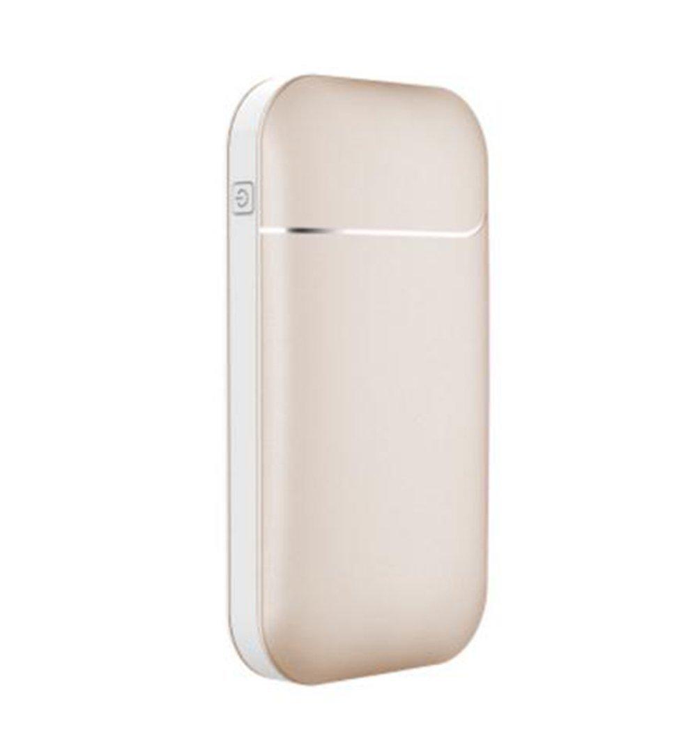 Yuan Ju Calentador de Mano electrónico y Cable USB, 7800mAh, 2-en-1 Banco de energía portátil Calentador de Mano eléctrico Reutilizable para esquí, Senderismo, Acampar Más