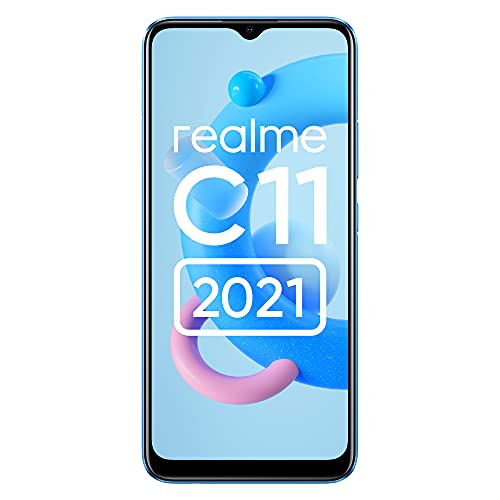 realme C11 (2021) (Cool Blue, 2GB RAM, 32GB Storage) with No Cost EMI/Additional Exchange Offers