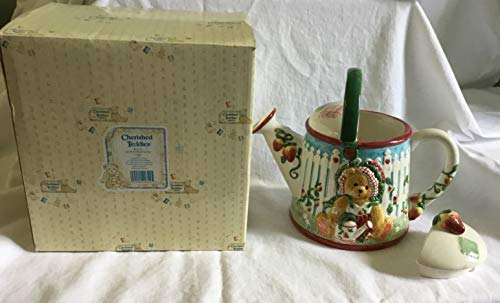 Cherished Teddies Teapot Girl with Watering Can 161314 (Cherished Teddies Girl)