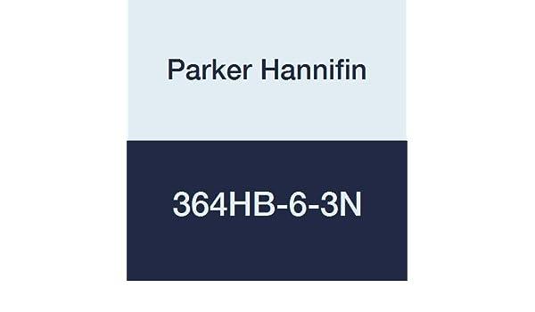 3//16 Hose Barb x 3//16 Hose Barb Parker Hannifin 322HB-3N-pk5 Par-Barb Union Connector Fitting Pack of 5 Nylon White
