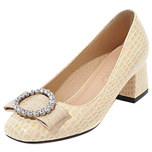 pour talons abricot Chaussures à Vulusvalas femme Y8q1Hxw