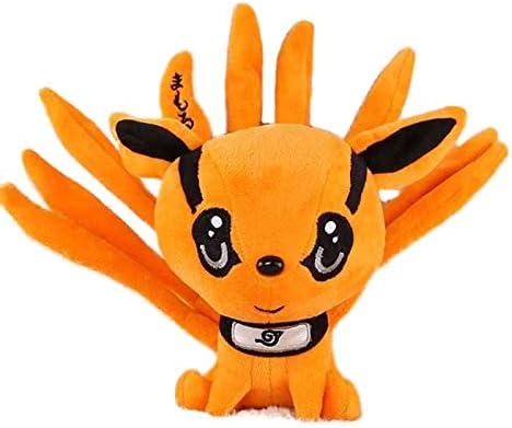 Juguete de Peluche 25cm Lindo Anime Naruto Kyuubi Kurama muñeca de Felpa Relleno sin Veces Animales de Zorro Juguetes Regalos creativos para niños niños niños niños