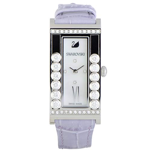 (Swarovski Women's Lovely Crystals Square White Watch)