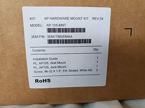 Aruba Networks AP-105-MNT Model 105 Wireless Access Point Mount Kit