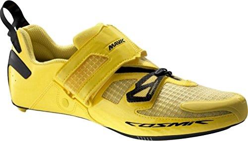 Mavic Cosmic Ultimate Tri Shoes - Men's Yellow Black, US 9.5/UK 9.0