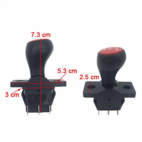 Forward Stop Back Gear Lever Push Rod Switch Accessory for Kids Power Wheels Cars Children Electric Ride on Toys Replacement Parts