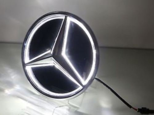 Kimoo Illuminated MB-LED03 Mirror BlLED Logo LED Light Front Grille Star Emblem Badge for Mercedes Benz C E R ML GL GLA CLA CLS Class 2013-2017