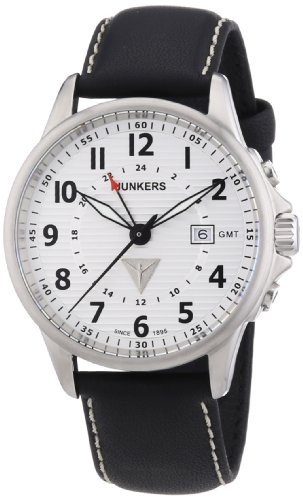 Junkers Tante JU GMT dual time Swiss- quartz 6848-1 watch