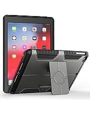 JETech Hoes voor Apple iPad 9,7-inch 6e / 5e Generatie, 2018/2017 model, dubbellaagse design beschermhoes, Grijs