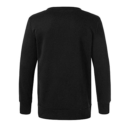 a over Pull Noir Homme Encolure Top Pour Maille Pull Tricot En O Avec Itisme ASqOxw