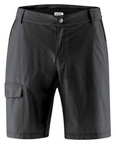Kurze Shorts Arico Männer schwarz Größe 5XL