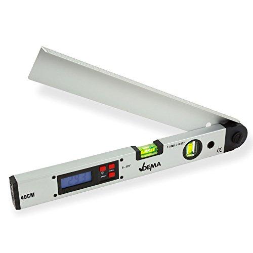 DEMA Digitaler Winkelmesser mit Wasserwaage 40 cm