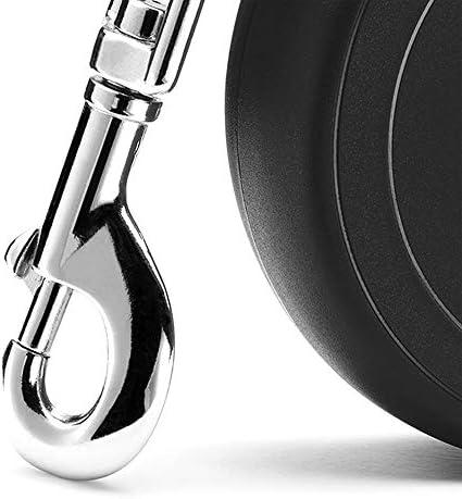 Flexi New Classic Laisse avec Sangle pour Chien Noir 5 m Taille S