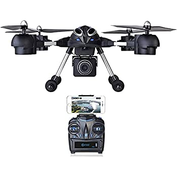 VALENTINES SALE! Contixo F10++ Quadcopter RC Drone 720P HD Wifi FPV Video Camera Altitude Hold Headless Mode 4 Channel 2.4GHz RTH GoPro HERO Action Camera Compatible - Best Gift