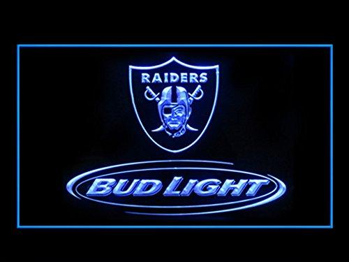 Bud Light Oakland Raiders Display Led Light Sign
