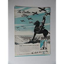 The North American Way, 40's Print Ad. Full Page B&W Illustration (the Dallas story/cowboys,horses,cows/airplanes) Original Vintage 1941 Life Magazine Print art ***store link [www.amazon.com/shops/ads-thru-time]
