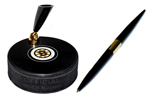 fan products of Boston Bruins Autograph Series Hockey Puck NHL Desk Pen Holder