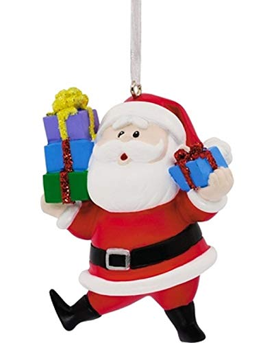 Ornament Hallmark Rudolph The Red-Nosed Reindeer's Santa Christmas Tree