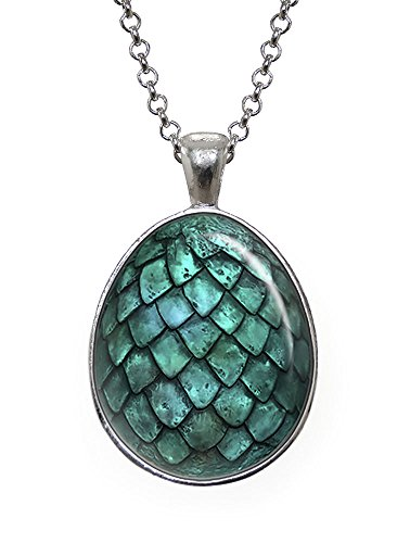 Dragon Egg Pendant, Game of Thrones Necklace, Geek Jewelry, Girl Gift, Birthday Gifts, khaleesi, Daenerys (Dragon Girl Game Of Thrones)