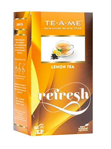 TE-A-ME Lemon Tea Pack of 25 Tea Bags