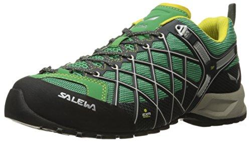 SALEWA Ws Wildfire Vent, Zapatillas de Deporte Exterior para Mujer - GRÜN/schwarz
