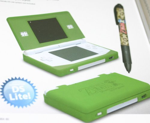 nintendo ds lite zelda phantom hourglass glove kit w stylus electronics video game console. Black Bedroom Furniture Sets. Home Design Ideas