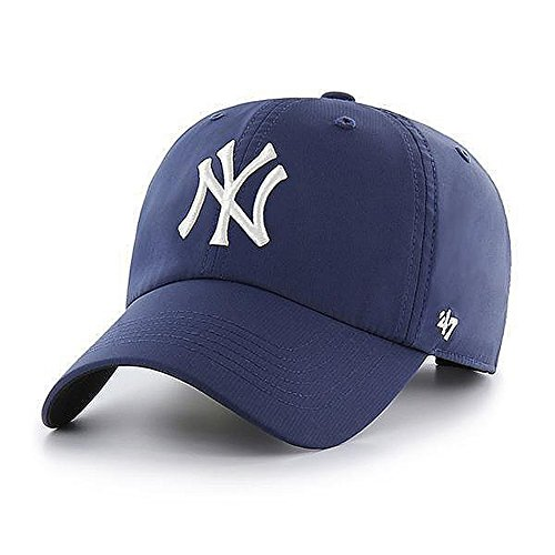 47_brand Gorra Mlb New York Yankees Clean Up Curved V Relax Fit Repetition azul/blanco talla: Ajustable