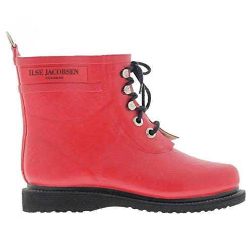ILSE JACOBSEN Rub2 Boot - Women's Deep Red 39 by ILSE JACOBSEN