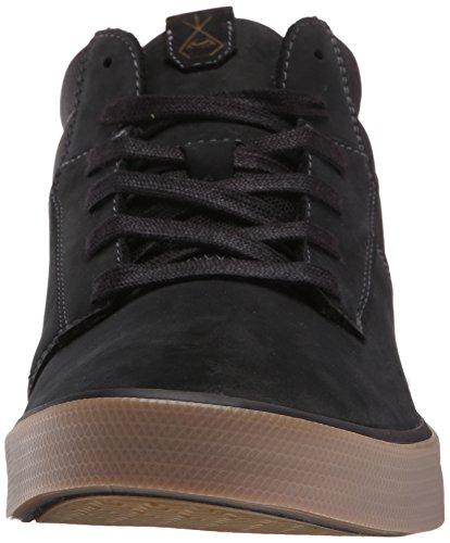 Volcom Mens Grimm Mi 2 Mode Sneaker Nouveau Noir