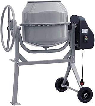 Batidora el/éctrica con agitaci/ón enlucido de mortero de hormig/ón herramienta de ajuste de la calidad hormigonera,Grey-120L