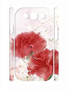 Individualized Beautiful Roses High Impact Samsung Galaxy S3 I9300 Phone Case WANGJING JINDA