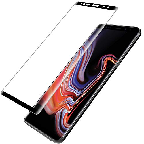 LK for Samsung Galaxy Note 9 Screen Protector,[3D Curved][3D Full Coverage] Tempered Glass with Lifetime Replacement Warranty by LK