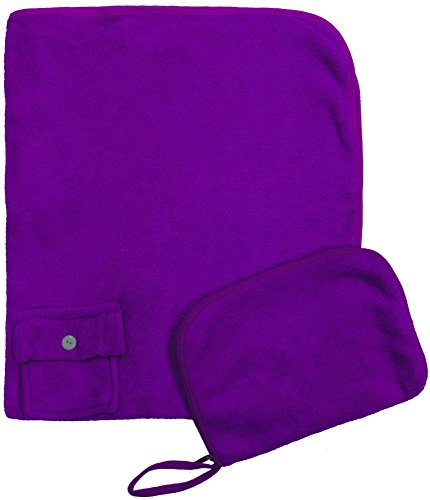 Simplicity 4pc Bulk Wholesale Lot Travel Blanket Neck Pillow