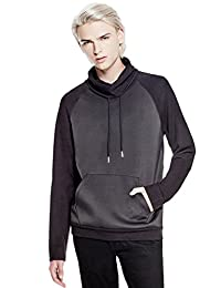 GUESS Factory Scuba Mix Funnel-Neck Pullover