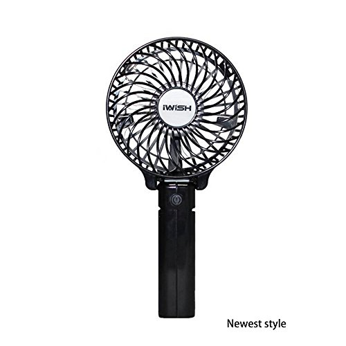 iwish The newest style Protable Folding Mini USB Rechargeable Fan Electric...