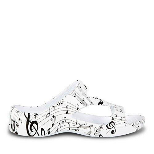 Dawgs Kvinna Hålfotsinlägg Z Sandaler Musikaliska Noter